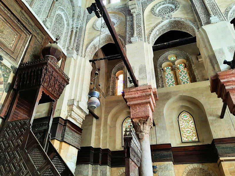 minbar mosque qalawun complex sultan barquq mosque cairo