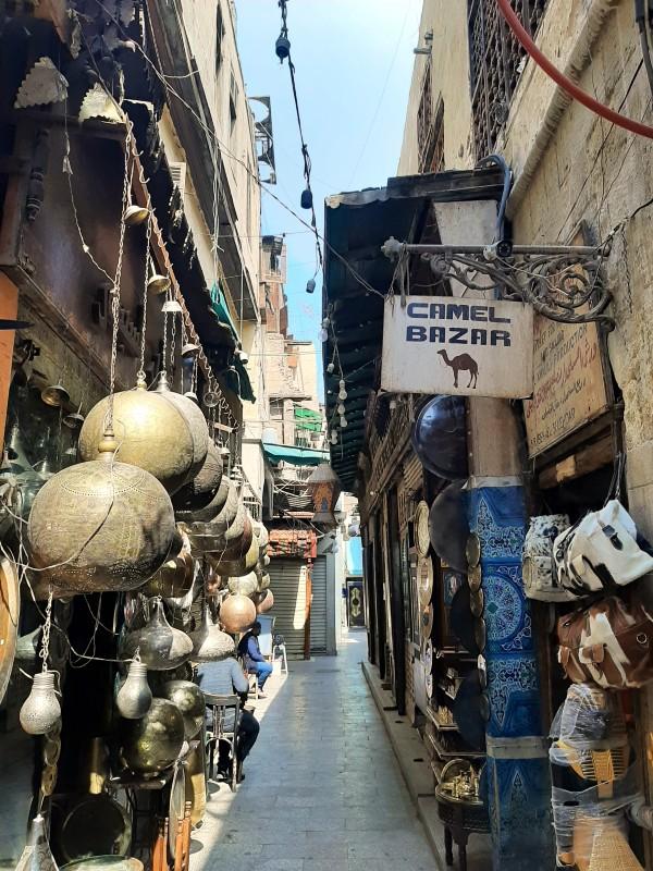khan el-khalili souq cairo old town