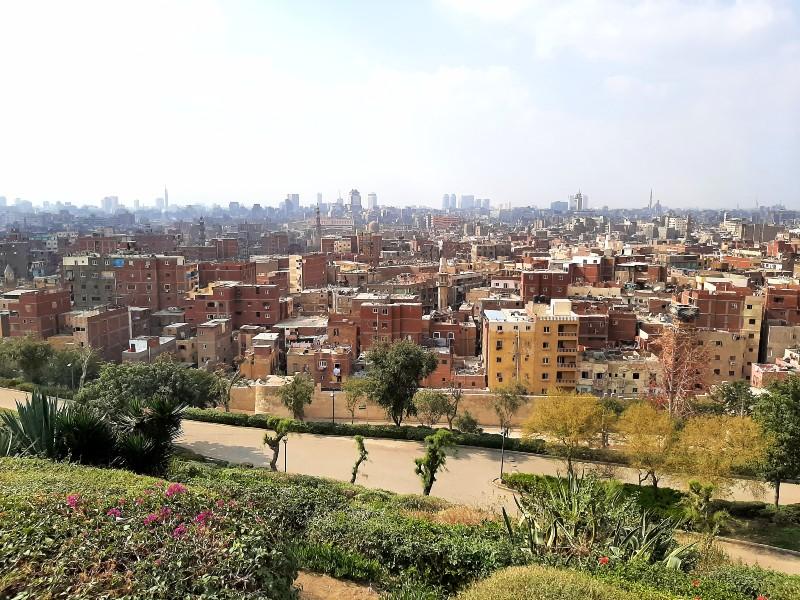 cairo view al-azhar park