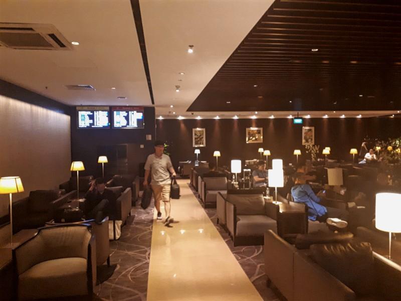 silverkris lounge singapore terminal 2