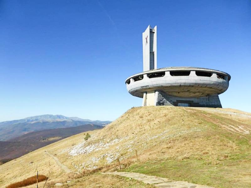 mount buzludzha monument communist spaceship