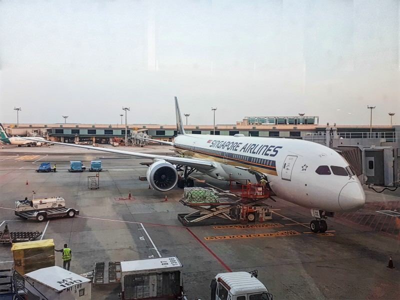 singapore airlines boeing 787-10 b787