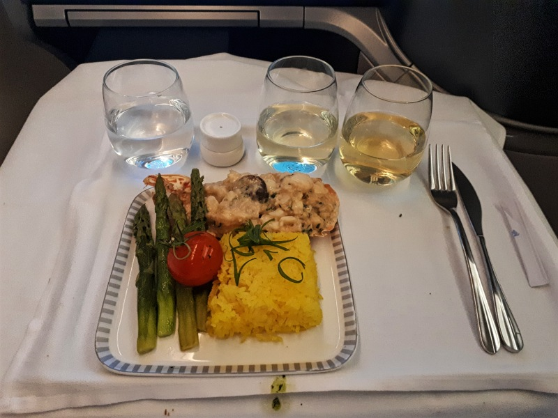 lobster singapore airlines business class