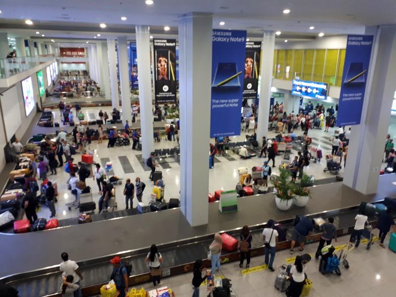 manila airport baggage reclaim area