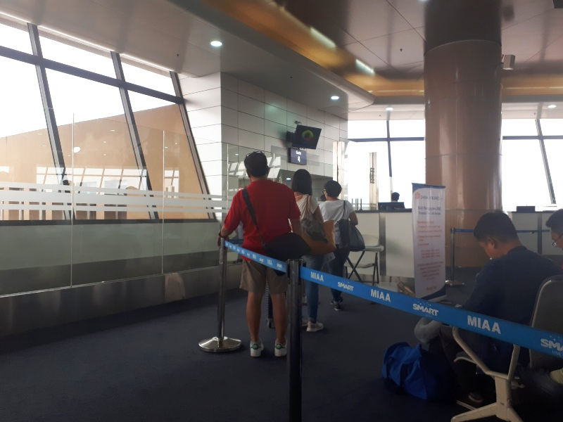 boarding manila gate