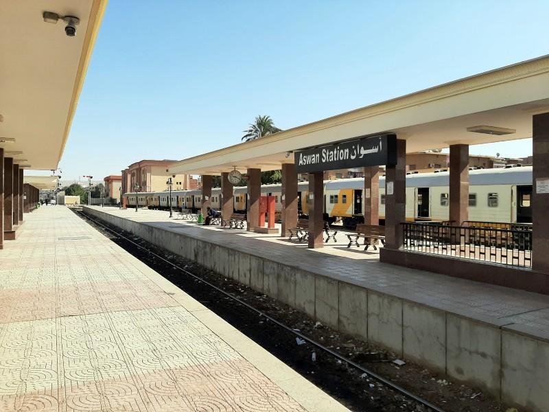 aswan railway station