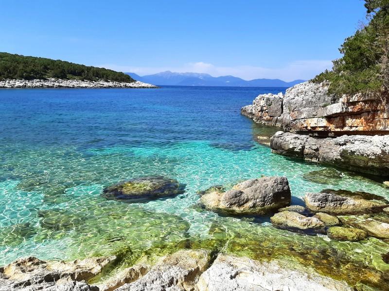 cephalonia kefalonia beach greece greek tourist levels numbers tourism