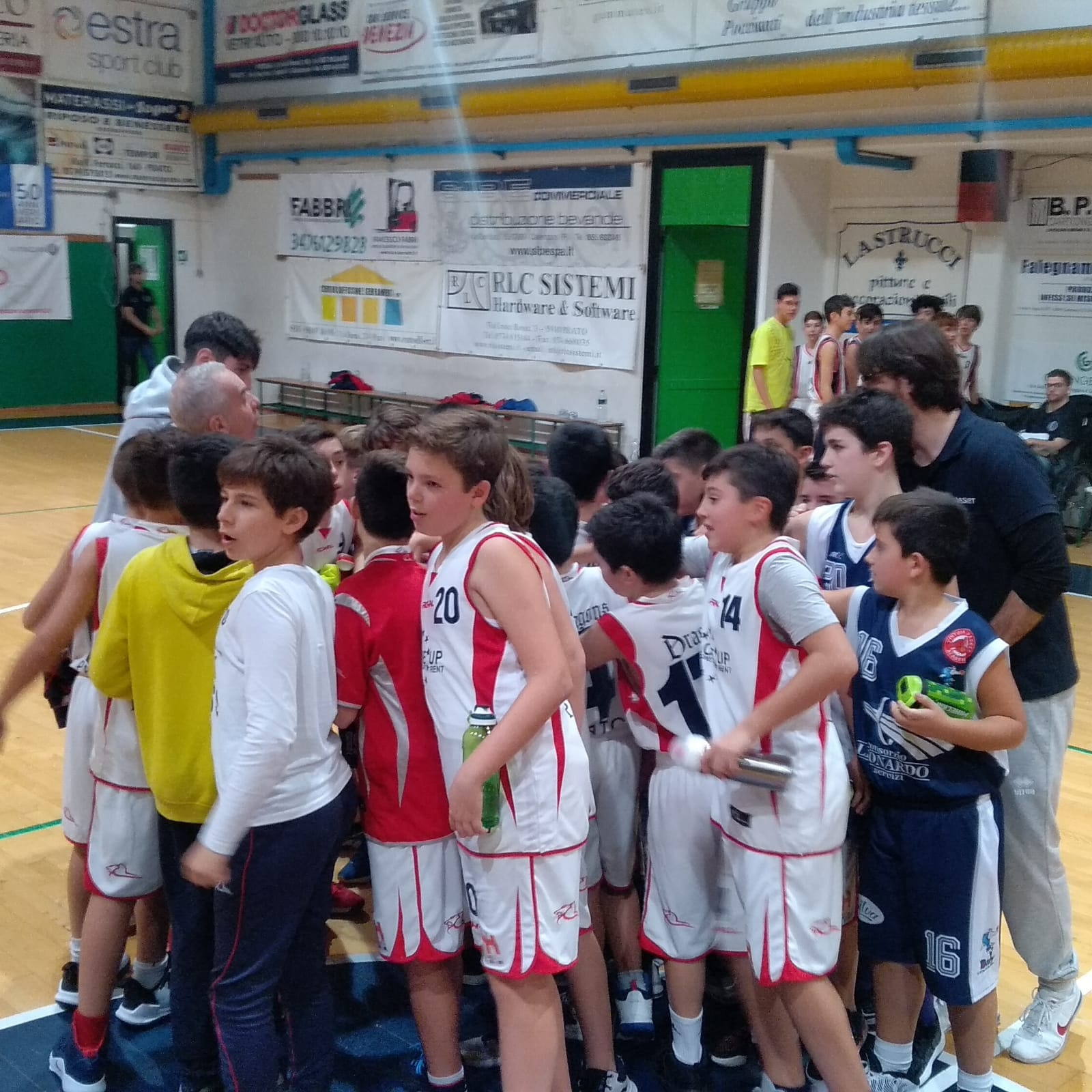 Esordienti: CGFS Dragons – Dany Basket Quarrata 105-06