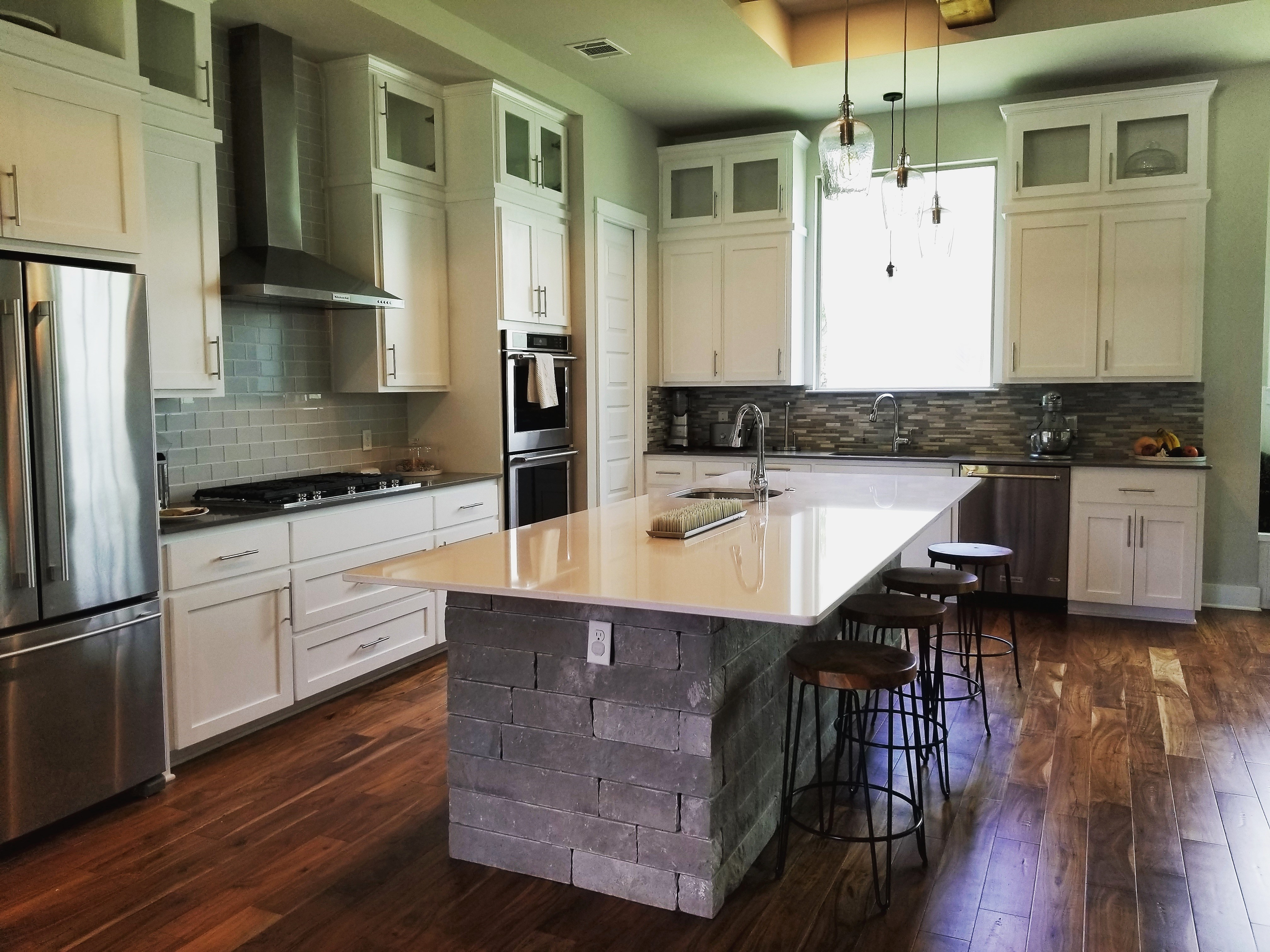 Custom Kitchen Floor Plans Austin TX  Palladian