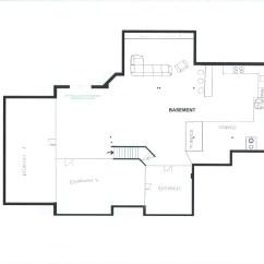 Kitchen Layout Ideas Cabinets Storage 地下室布局 我的想法 Basement Remodeling Basement3