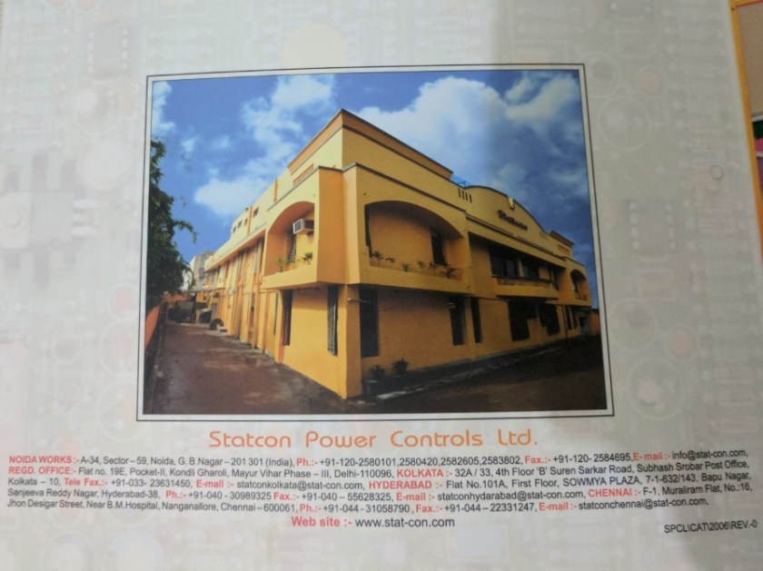 Work at Statcon Power Controls Ltd 2