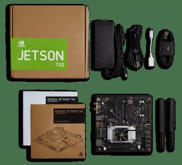 Nvidia Jetson TX2 AI hardware