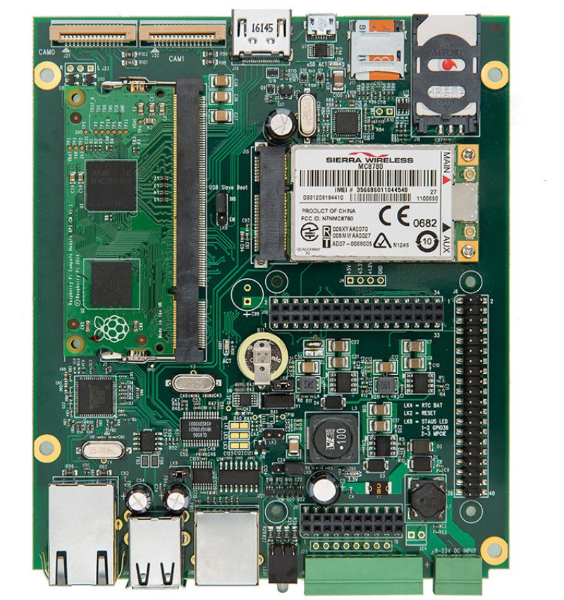 MyPi Industrial IoT Integrato Board