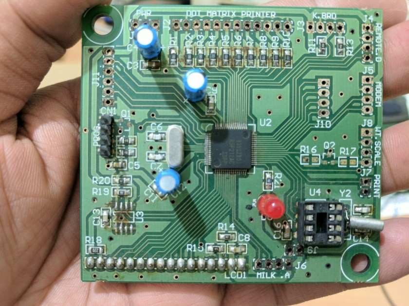 Renesas R8C Tiny Series Development Board