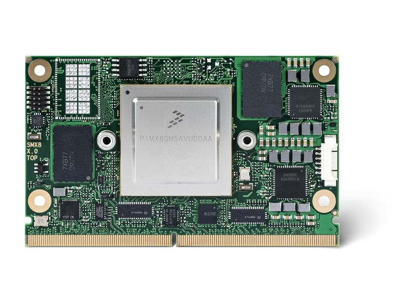 Congatec SMARC 2.0 SoM module with NXP i.MX8 1