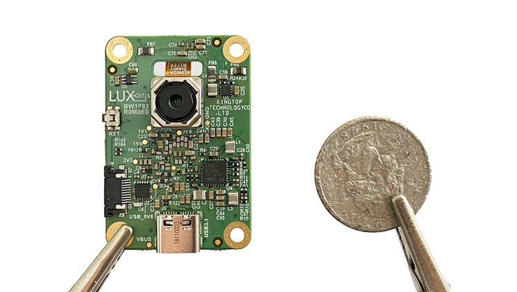 megaAI Board with Intel Myriad X 1