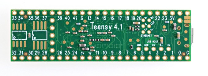 Teensy 4.1 (NXP IMX RT1062) Development Board 2