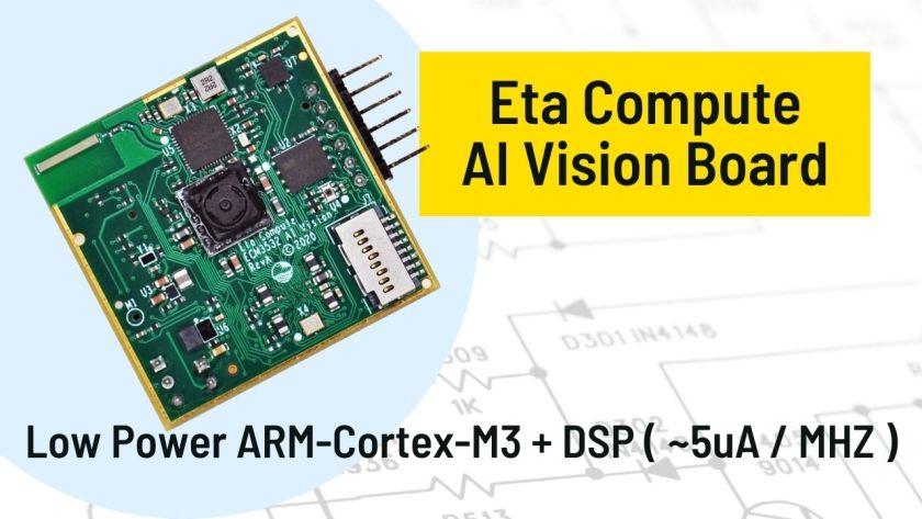 Eta Compute ECM3532 AI Vision Board 1