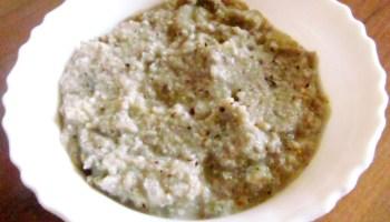 Eggplant chutney | Brinjal chutney