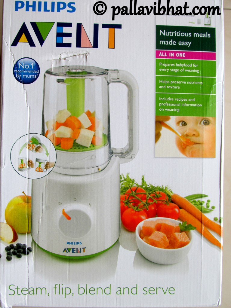 Philips Avent Combined Steamer and Blender review