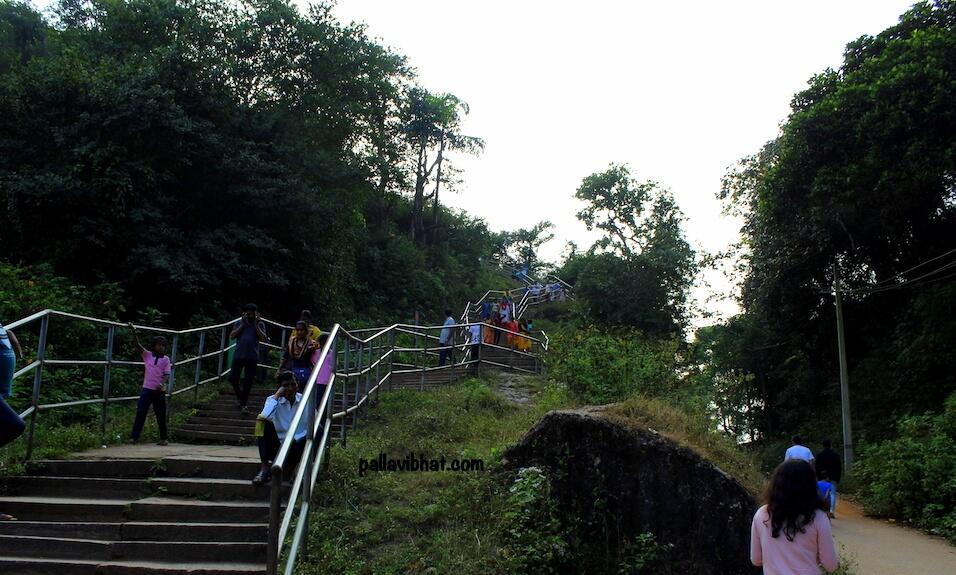 Way to Manjarabad Fort