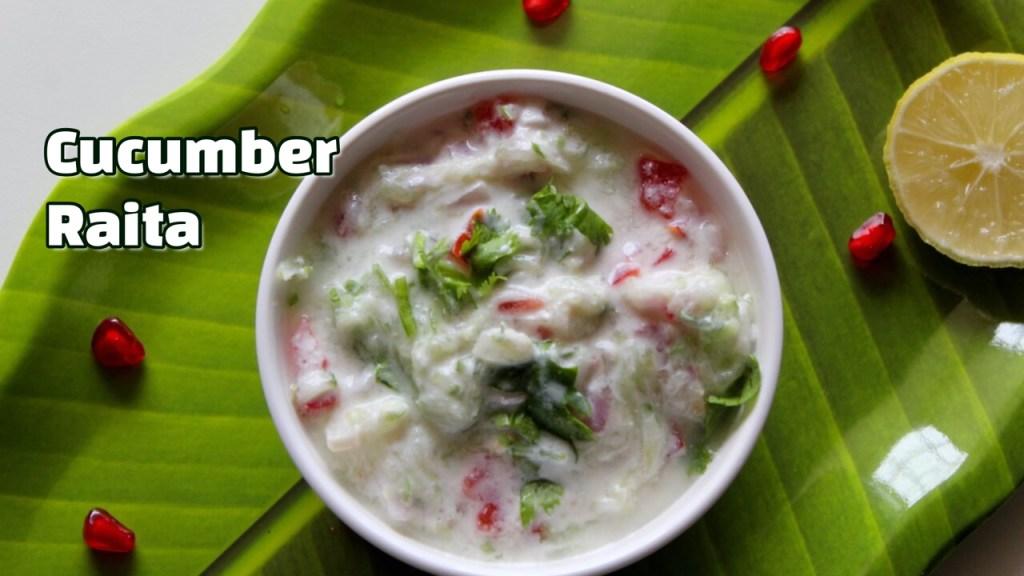 Cucumber Raita