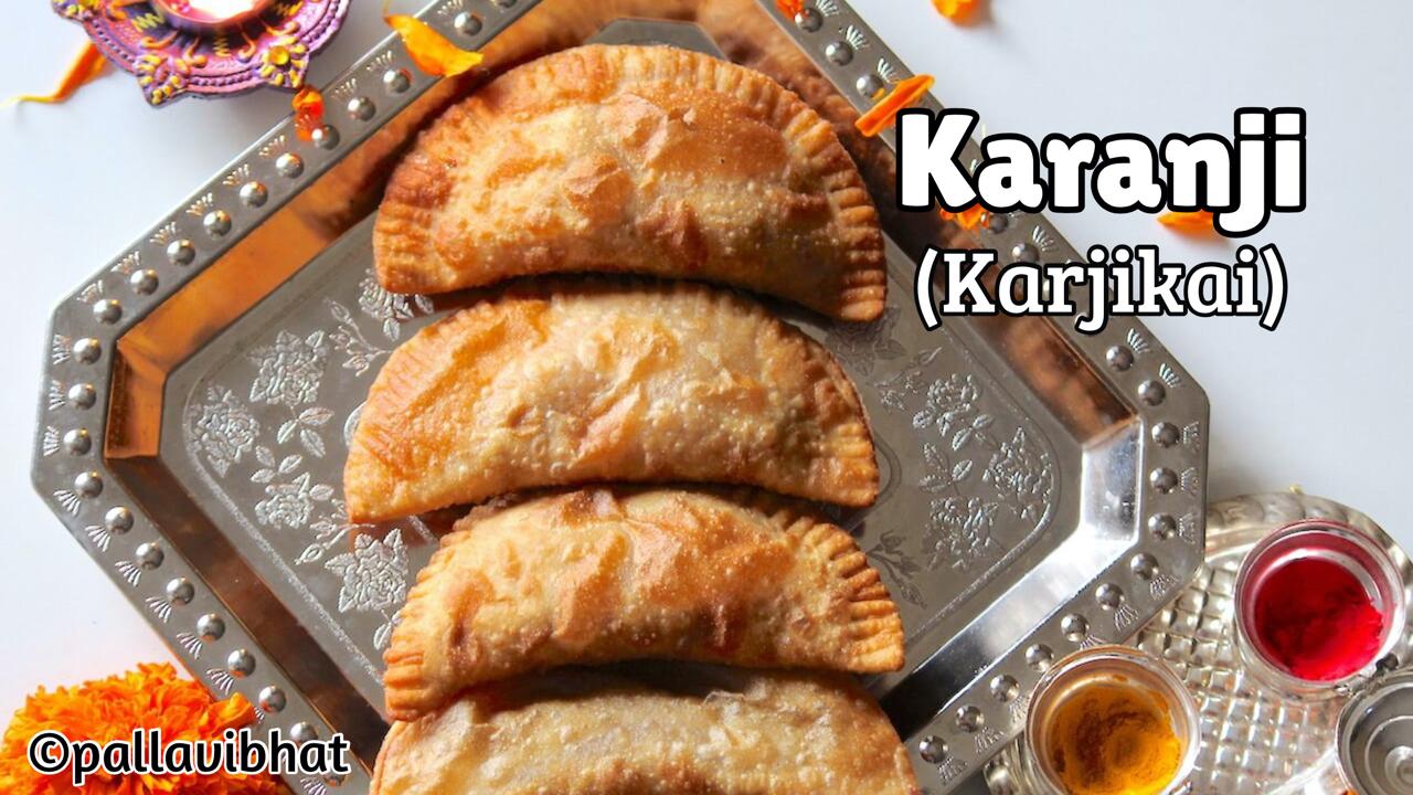 Karanji - Karjikai recipe