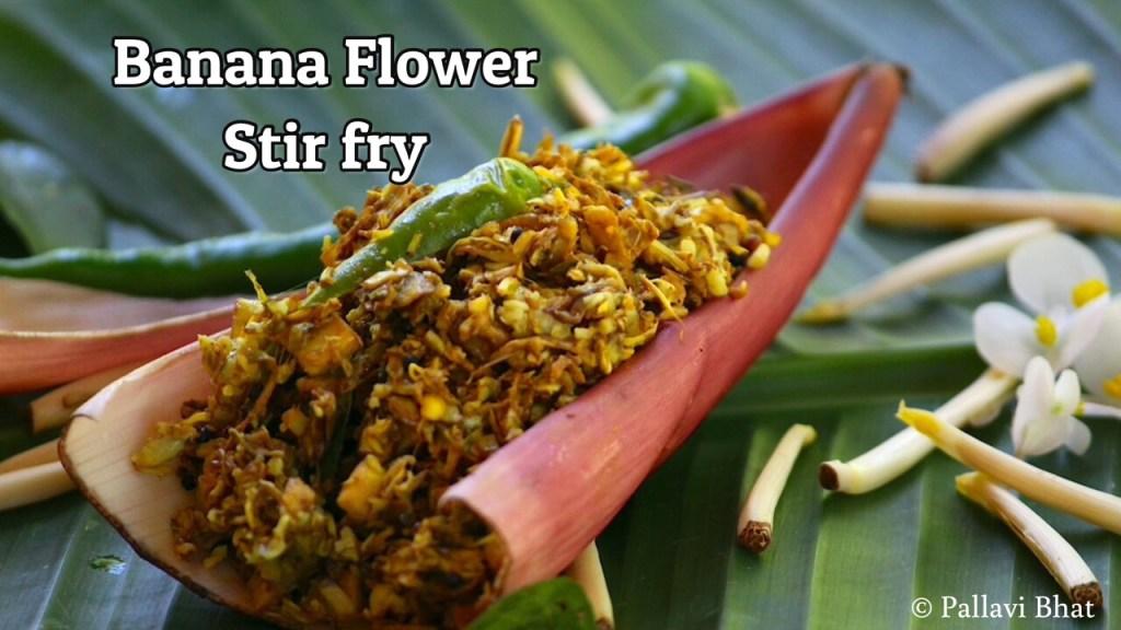 Banana Flower Stir Fry
