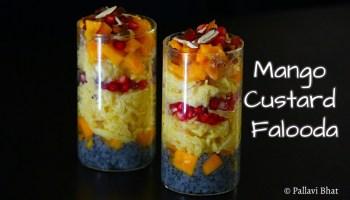 Mango Custard Falooda