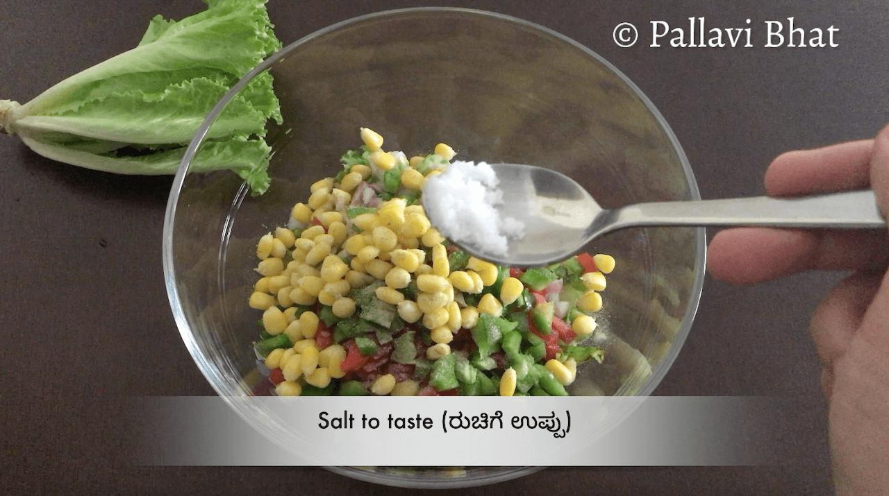 Chana Lettuce Salad