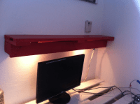 Pallet shelf: Backlight Board - Pallet Furniture : Pallet ...