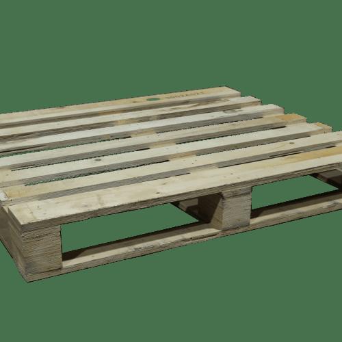 Blokpallet | 100 x 120 cm - presswood | PalletDiscounter