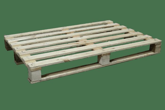 Blokpallet | 80 x 120 cm - 7 lats | PalletDiscounter