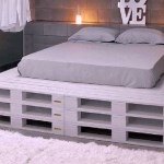 Palletbed 3 laag
