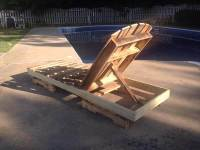 DIY Recycled Pallet Lounge Chair | Pallet Furniture DIY