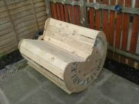 DIY Pallet and Cable Drum Rocking Chair | Pallet Furniture DIY