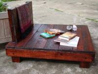 Pallet Meditated Chair | Pallet Furniture DIY