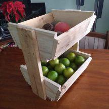 Rustic Pallet Fruit Stand Furniture Diy