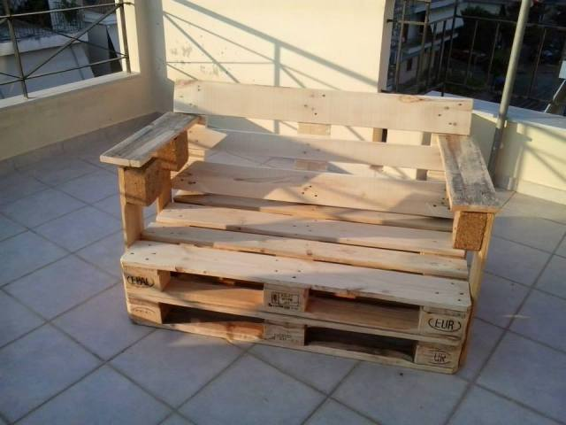 fixing wooden chairs vibrating chair baby diy pallet bench