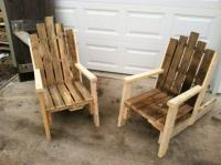 31 DIY Pallet Chair Ideas