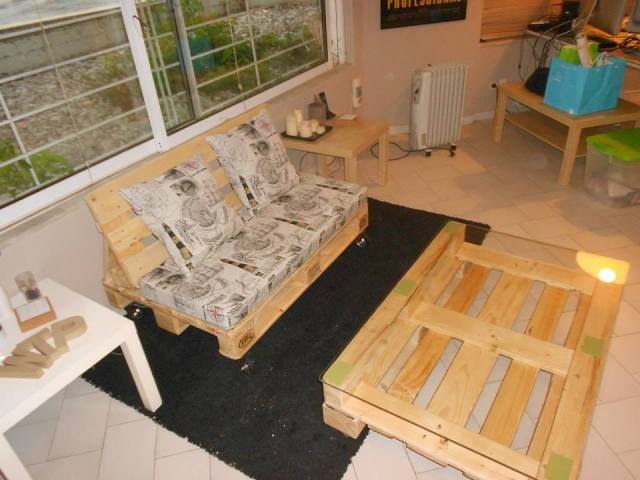 diy pallet living room furniture small arrangements sofa table plans set