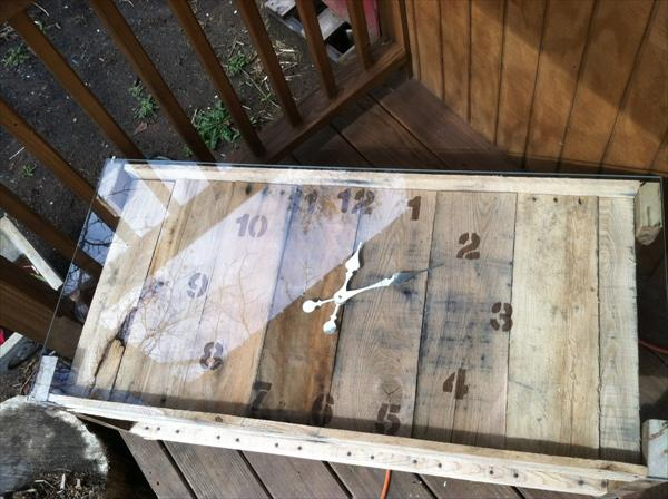 Repurposed Coffee Table Bench