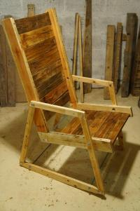 DIY Pallet Wood Rocking Chair | Pallet Furniture Plans