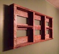 DIY Pallet Wall Shelf for Storage Things | Pallet ...