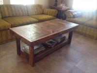 DIY Pallet Handmade Coffee Table | Pallet Furniture Plans