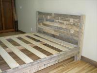 DIY Pallet King Size Bed | Pallet Furniture Plans