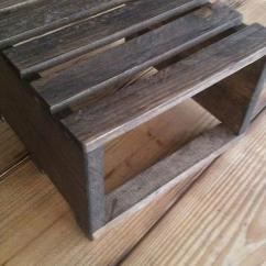 Kitchen Utensil Rack Toys Set Diy Pallet Rustic Table Riser | Furniture Plans