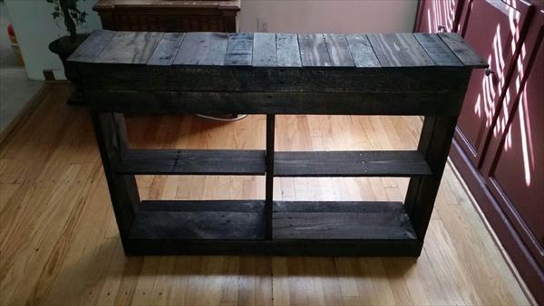 DIY Rustic Pallet Shoe Rack  Pallet Furniture Plans