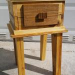 Diy Pallet Nightstand And Side Table Pallet Furniture Plans