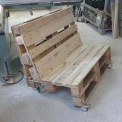 Diy Sofa From Pallets Black Decor Ideas Pallet Two Seated Rolling Furniture Plans Reclaimed With Wheels